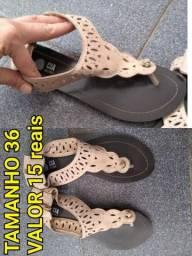 Sandálias e sapatilhas novas semi novas. Tamanho e valores nas fotos