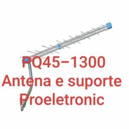 Antena Digital Pq45-1300 Proeletronic 38 Elementos 16DB