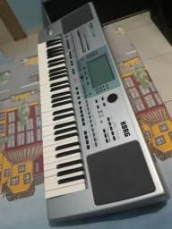 Vendo teclado Kong sd muito bom com vários ritimo