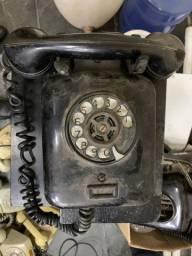 Lote Telefones Antigos Baquelite Siemens Ericsson