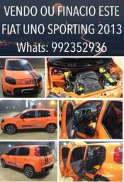 Leia a descrição vendo carro uno Sporting completo 1.4 - 2013