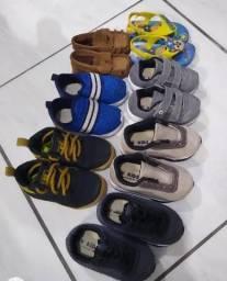 Desapego lote calçados infantil