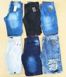 Bermudas jeans promoção atacado