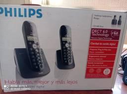 Telefone sem fio Philips + ramal
