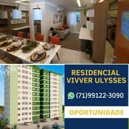 Lançamento 2/4 - Residencial Vivver Ulysses a partir de 169mil!