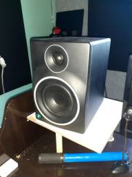 Monitor de referência  / áudio mr5mk3. CAIXA E NOTA.