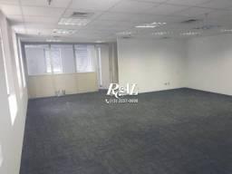 Sala comercial para alugar, 208 m² - Cidade Monções - São Paulo/SP