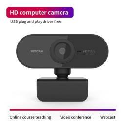Webcam Câmera Para Computador USB Full Hd 1080p C/ Microfone