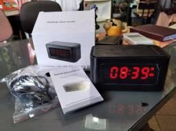 Caixa Som Bluetooth Radio, Despertador etc