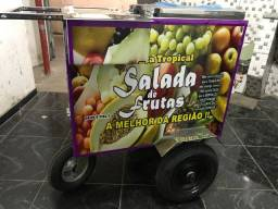 Carrinho de salada de frutas personalizado 40 litros