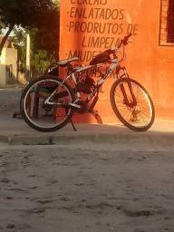 Bike motorizada um mês de uso documento roda perfeita