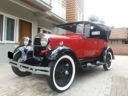VENDO FORD MODELO A 1929 PLACA PRETA