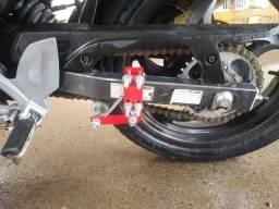 Tensionador de corrente de motos até 300 cilindradas.a