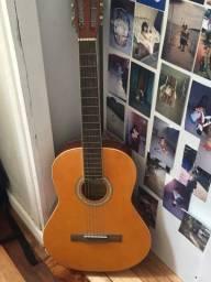 Vendo violão, afinador, palheta