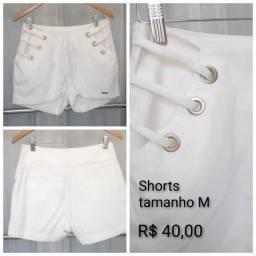 Shorts Feminino novos com preço de desapego