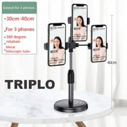 Título do anúncio: O melhor tripé suporte para celular do mercado para live youtube stream (Leia)