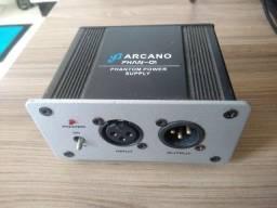 Alimentador De Phantom Power 48v Arcano Phan-01