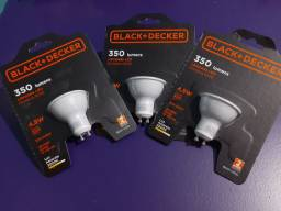 3 Lâmpadas LED dicróica GU10