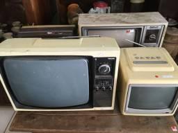 TV, televisor, televisão antiga