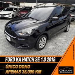 Ford Ka Hatch SE 1.0 2018 - Único dono