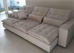 Sofá retrátil e reclinável 3mtrs!