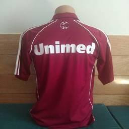Camisa do Fluminense comissão técnica Libertadores de 2008