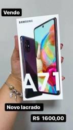 A71 128Gb aparelho novo lacrado