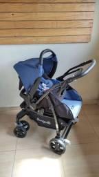 Carrinho de bebê e bebê conforto Burigotto AT6K