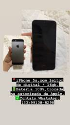 IPhone 5s com leitor de digital Usado