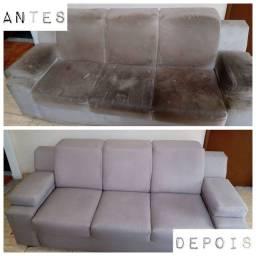 Sofá cleaner - limpeza e higienização de estofados - sofás, poltronas, cadeiras, colchões.