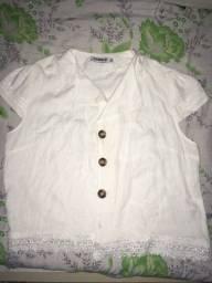 Blusa de tecido