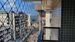 Apartamento 145m² andar alto, nascente, 4 quartos + DCE, 2 vagas,  vista praia Ponta Verde