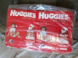 Fralda Huggies XG 52 unidades.