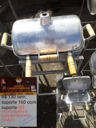 Churrasqueira em alumínio fundido frete grátis 6x sem juros