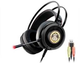 Headset Gamer Kmex AR50 Led Colorido
