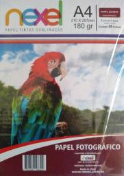 PAPEL FOTOGRÁFICO NEXEL A4 180G C/20FLS