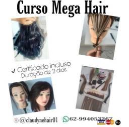 Curso Mega hair