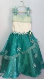 Lindos Vestidos de festa Tam 6 a 10 anos