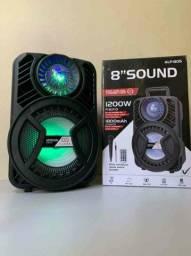 Caixa de Som 1200W ALP 850 C/ Bluetooth e Microfone