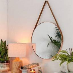 Espelho Redondo com Alça (3 tamanhos)