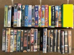 Lote 40 Fitas Filme VHS Video