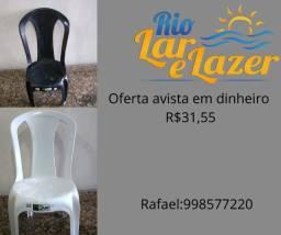 cadeira de plastico oferta