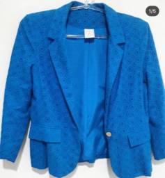 Casaco de leser azul
