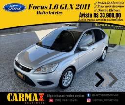 Focus 1.6 Glx 2011 Completasso Segundo  Dono Muito Inteiro
