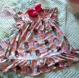 Vestido menina Mon Sucré
