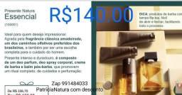 Título do anúncio: Natura Kit Essencial tradicional masculino 04 itens R$140.00