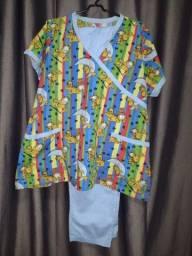 Pijamas hospitalar seminovos