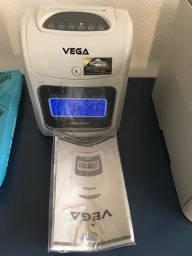 Relógio De Ponto Digital Vega + Cartões De Ponto
