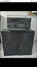 Rádio Gradiente,toca fitas, toca discos.