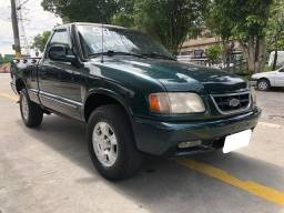 Chevrolet S10 2.2 verde cs mpfi 4x2 gasolina 2p manual 1998